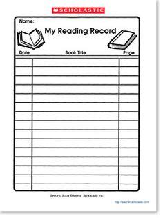 Outline for book report 4th grade